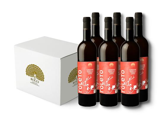 Box 6 Bottiglie Canavese Nebbiolo DOC