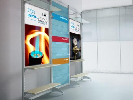 Allestimento negozio | SOL Group