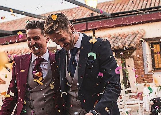 Pareja gay boda wedding planner Dile que Sí