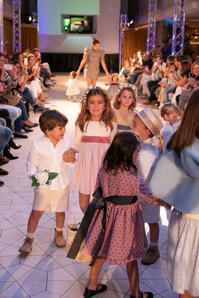 Desfile Little Daniela en Expoboda Madrid