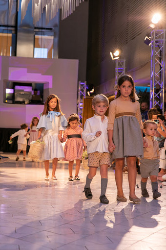 Desfile niños Little Daniela en Expoboda Madrid