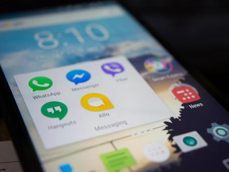 Mais um golpe aplicado via WhatsApp, o anúncio promete internet grátis, mas cuidado é vírus.