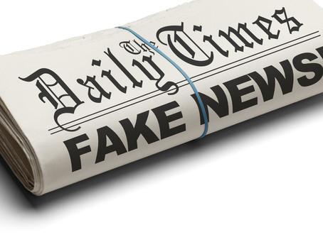 """Atire a primeira pedra, quem nunca acreditou em uma """"Fake News"""""""