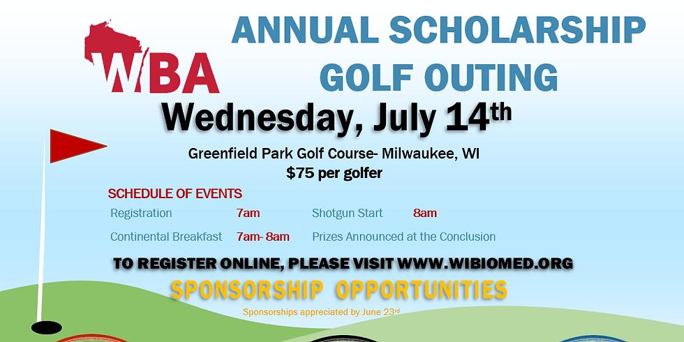 2021 WBA Golf Scholarship Fundraiser - Milwaukee
