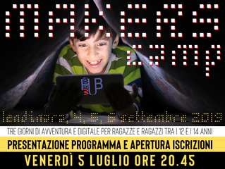 Arriva il Makers Camp!