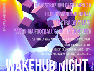 WakeHub! night + Anonima Football Orchestra
