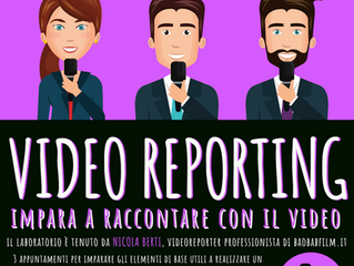 Diventa video reporter con lo spazio di produzione video di Stienta!