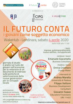 Il Futuro Conta: i Giovani come soggetto economico > rinviato a data da destinarsi