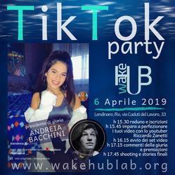 A WakeHub il primo TikTok Party