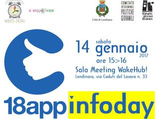 18app InfoDay a WakeHub! il 14 gennaio