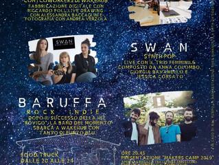 WakeHub Night illumina il 5 luglio con musica e making