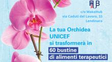"""""""L'Orchidea UNICEF per i bambini"""""""