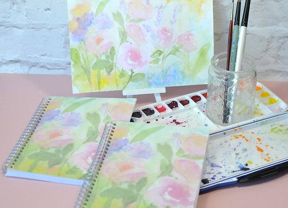 Pastel Garden Notebook