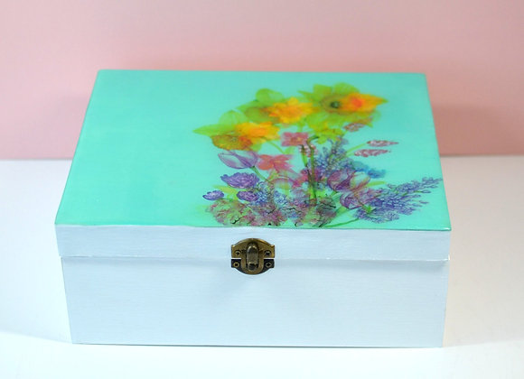 Teal Bouquet Box Only
