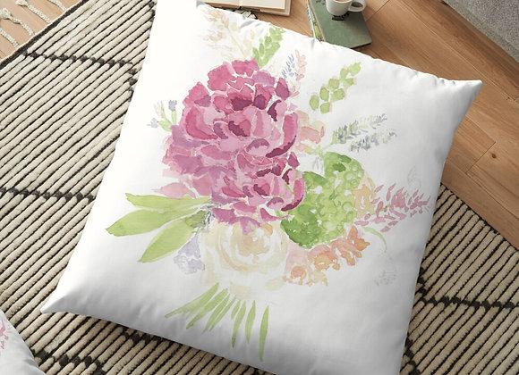 Sarah's Bouquet Floor Cushion