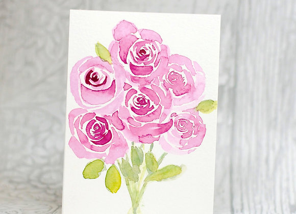 Half a Dozen Red Roses Original