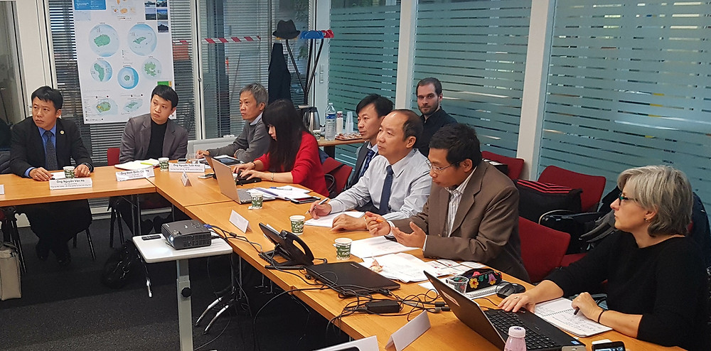 Vietnam-France knowledge exchange on integrated planning