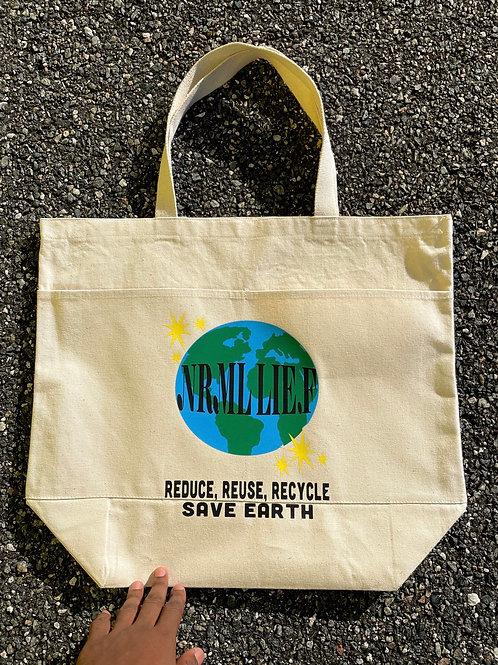 """Save Earth"" tote bag"