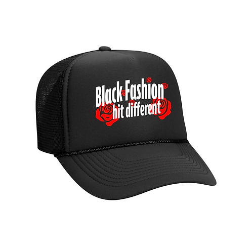 Black Fashion black hat