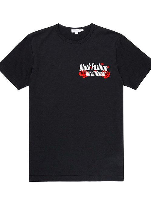 Black Fashion black tee
