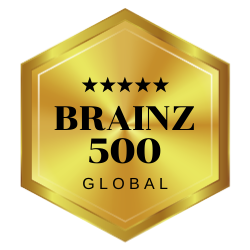Brainz Magazine 500 Global Honoree 2020