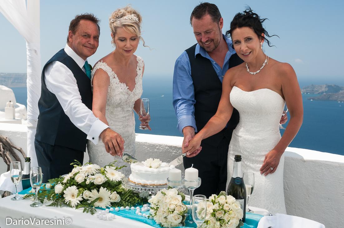 Double wedding at Villa Irini