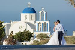 #Wedding in Santorini