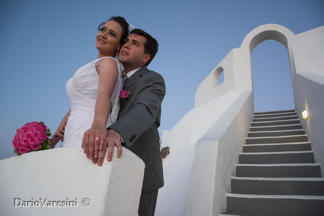 Caroline & Raphael at Dana Villas