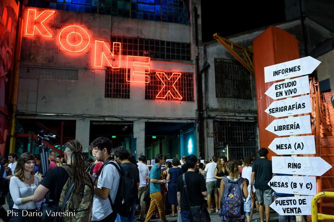 La noche de los Dibujantes en el Konex