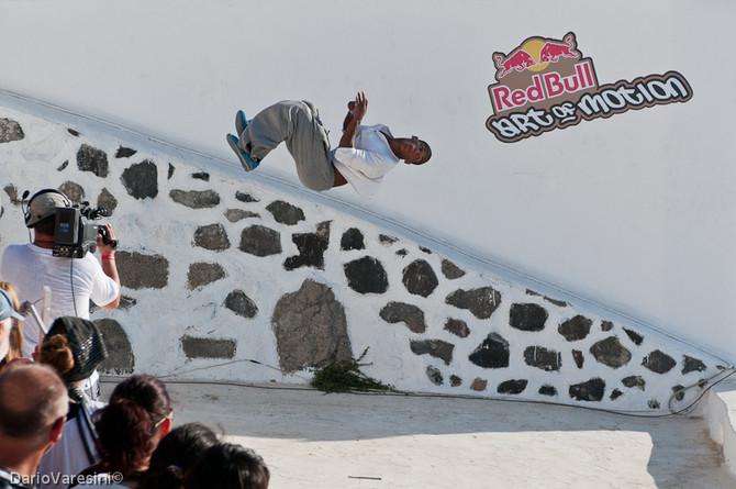 First Red Bull, Art of Motion Santorini