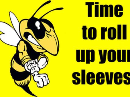 Working bee 2020 (again?! Yes! Again!)