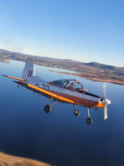 CT4 over Lake Jindabyne