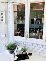Boring Cabinets to Bespoke Bar