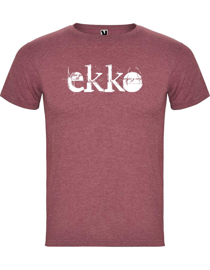 camiseta jaspeada Roja chico - Ekko Rock