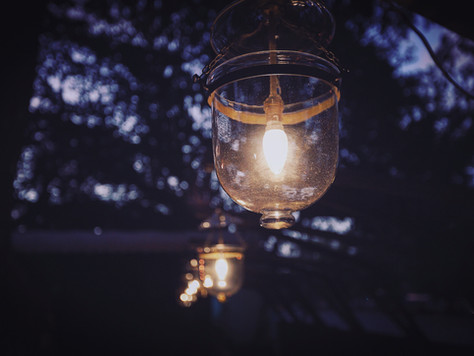Save money, get solar powered outdoor lights and see clearly