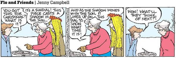 sundial comic strip