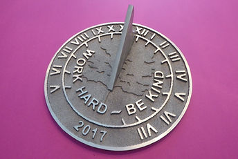 Calibrated ANCR Sundial.