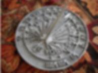 Calibrated ANCR Sundial.