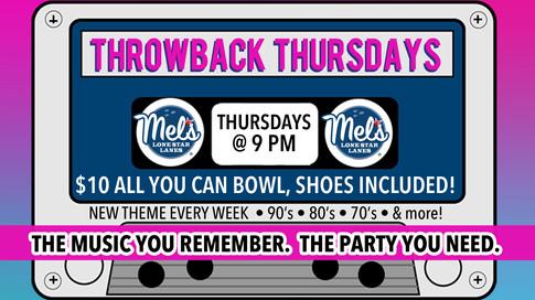 Throwback Thursdays Promotion
