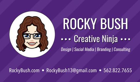 Rocky's Business Card