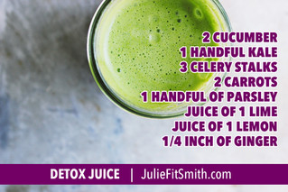 There are myriad benefits of juicing