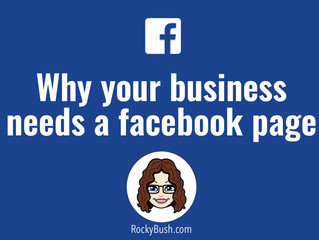 Why your business needs a Facebook page.