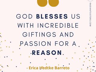 #SheIsRadiant – Erica Hedtke Barreto
