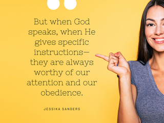 Three Reasons To Obey God, Even When You Don't Want To