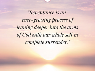 Change of Heart + Change of Actions = Repentance