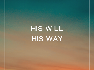 His Will, His Way