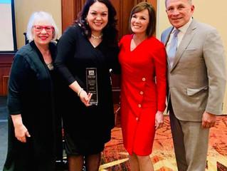 Senator Escamilla named Child Advocate of the Year
