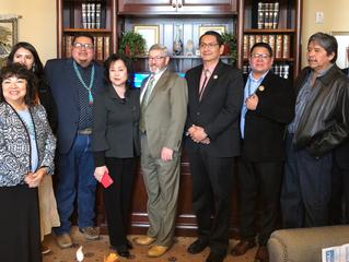 Utah State Senate Recognizes Navajo Code Talkers