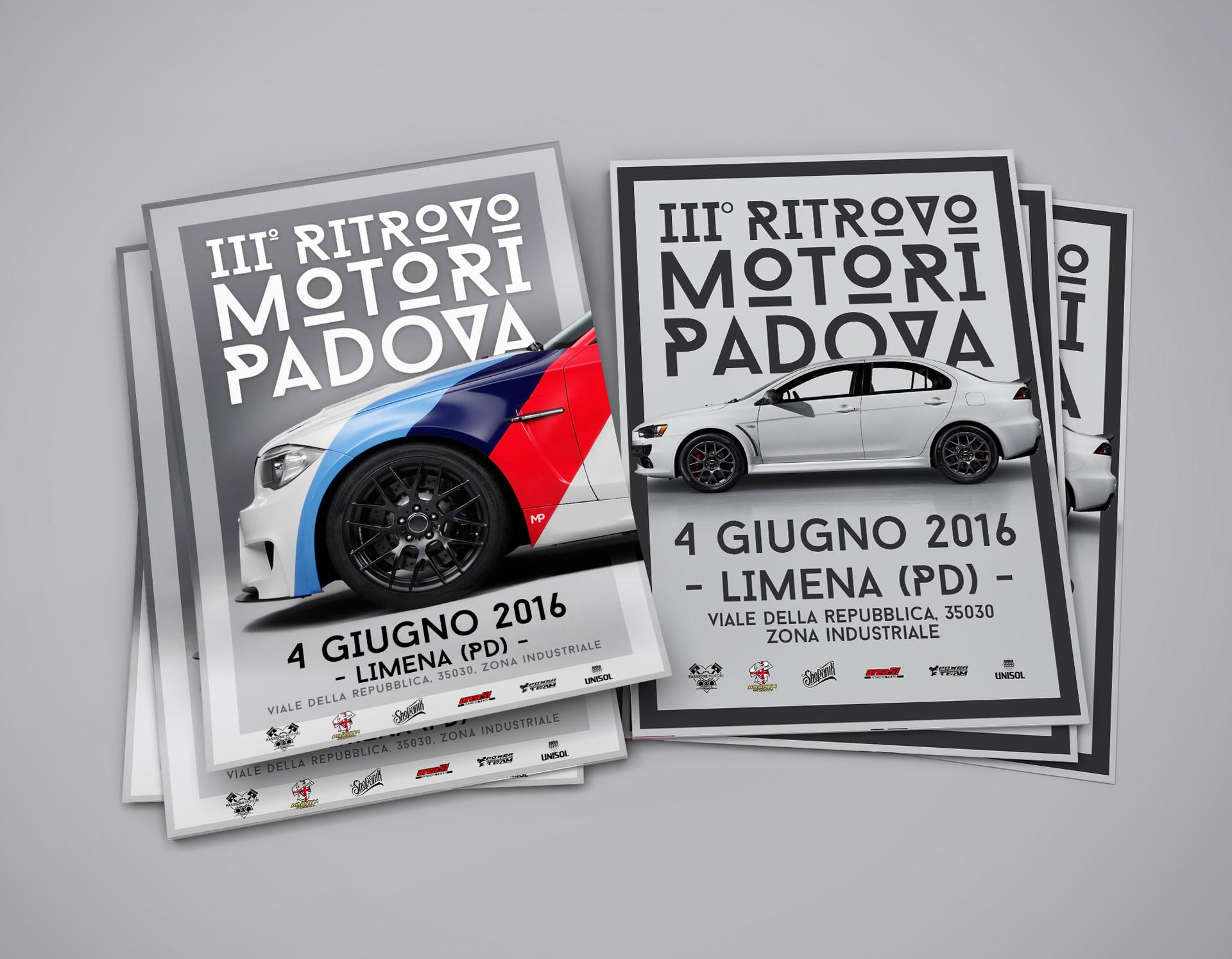 III Ritrovo Motori Padova Volantini - MP Grafica