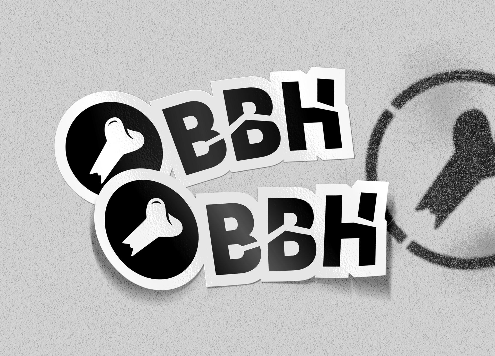 BBH Sticker Mockup - MP Grafica